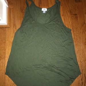 Old Navy Olive Green Tank